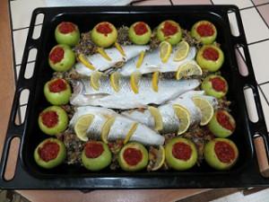 рыба запеченная целиком