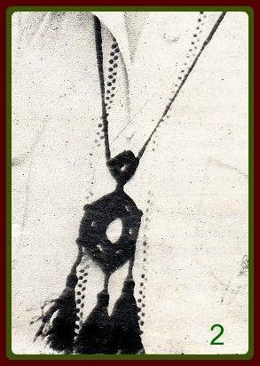 Вязаное украшение 2