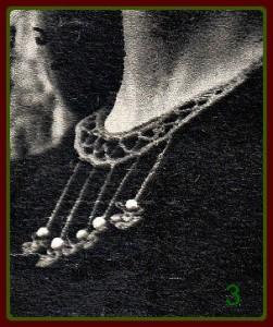 Вязаное украшение 3