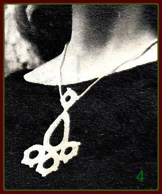Вязаное украшение 4