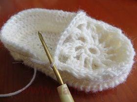 пошаговое вязание пинеток