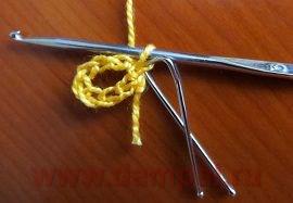 钩针教程:花边餐巾(心形) - maomao - 我随心动
