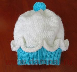детские вязаные шапочки с описанием