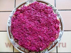 салат с лососем соленым