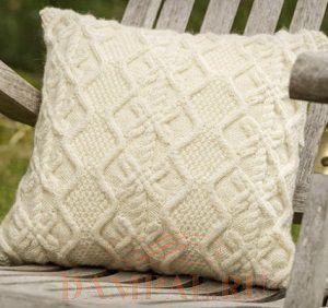 фото подушки декоративные вязаные