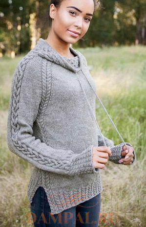 Женский пуловер «Harley»