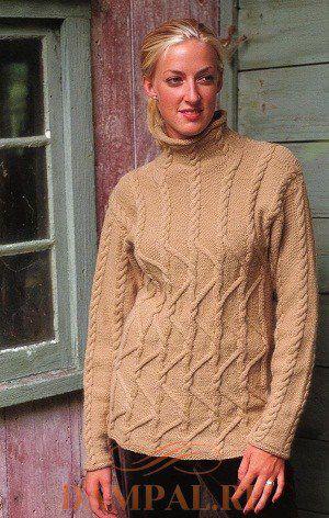 Женский пуловер «Cappuccino»
