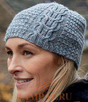 весенняя женская шапка