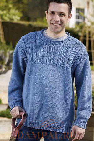 Мужской пуловер «Garden Twist»