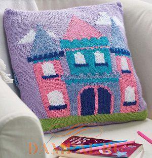 Детская подушка для маленьких принцесс