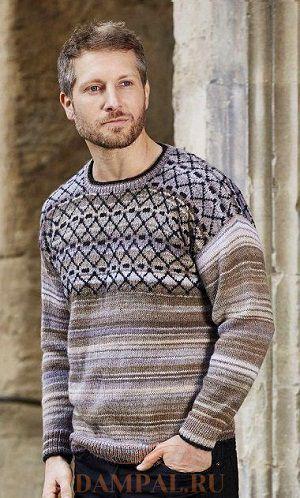 Мужской пуловер «Lammermuir»