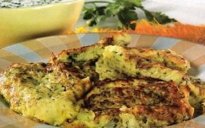 блюдо из кабачка