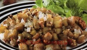 Простые блюда из баклажан