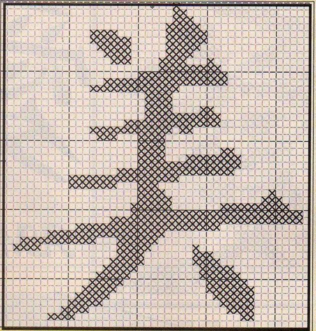 Схема иероглифа счастье