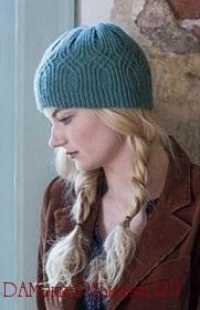 теплые вязаные шапочки