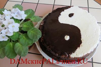 Мандариновый торт