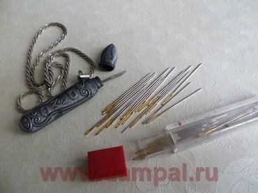 Материалы и инструменты для вышивания