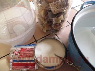 приготовление хлебного кваса