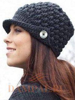 вязанные шапки на зиму
