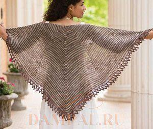 полосатая шаль