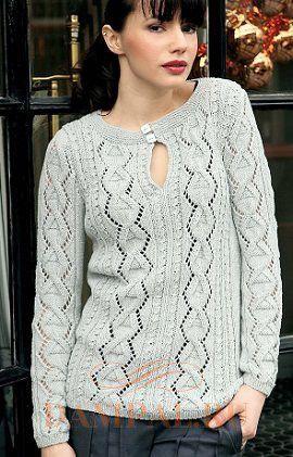 пуловер Ñпицами женÑкий