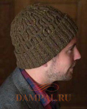 мужская вязаная шапка Masons Hat Damские Palьчики Ru