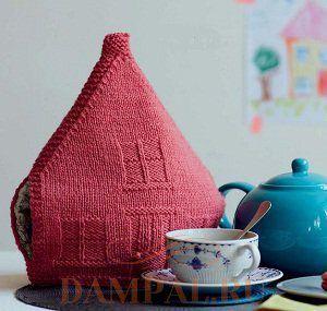 грелка на чайник домик