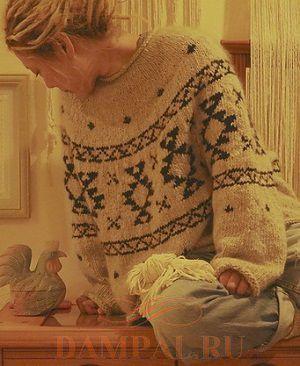 свитер оверсайз