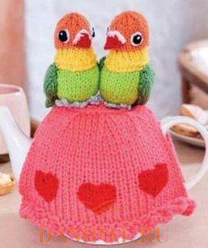 Грелка для чайника «Lovers»