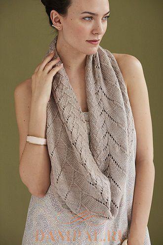 Ажурный шарф-снуд «Maevh»