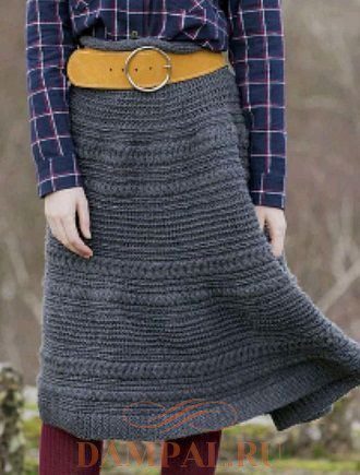 Вязаная юбка «Клотильда»