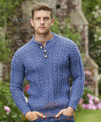 Мужской пуловер «Донегол»