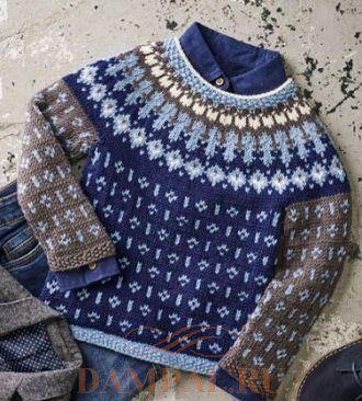 Детский пуловер «Миккель»