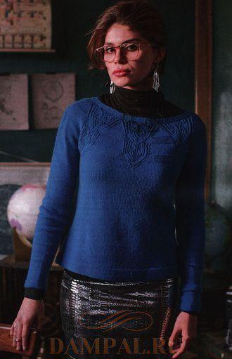 Женский пуловер «Кристалл»