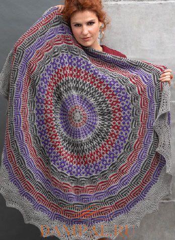 цветная шаль