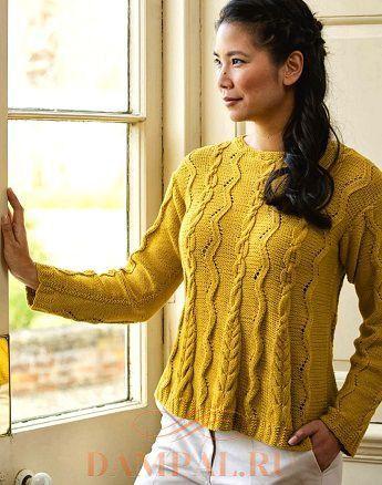 Вязаный пуловер «Котердейл»
