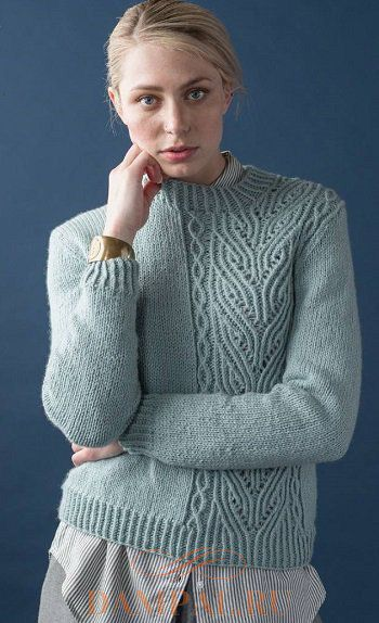 Женский пуловер «Enantiomer»