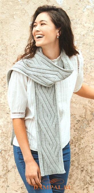 Вязаный шарф «Ono»
