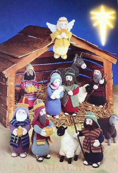 фигурки рождественского вертепа