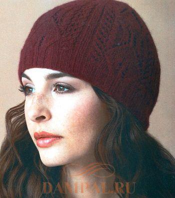 ажурная шапка